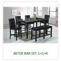 ASTER BAR SET 1+1+4